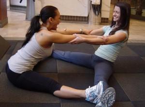 Hamstring/groin stretch