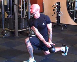 Lunges with a twist!